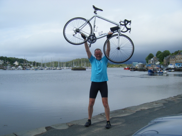 Mission accomplished! Tarbert, June 27th 2013, 6.15pm.