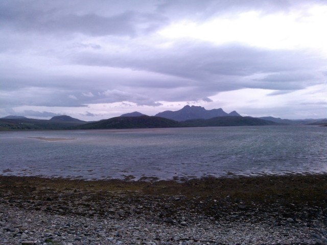 The Kyle of Tongue and Ben Loyal
