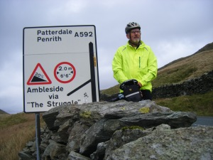 Kirkstone Pass summit.