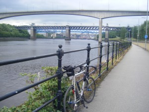 Six of the seven bridges that now cross the Tyne in Newcastle.