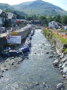 Glenridding flood repairs.