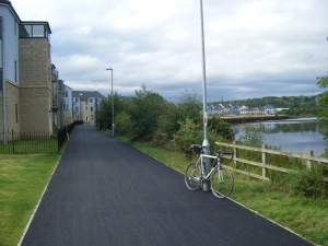 ....and onto the 5-star cycleway at Blaydon - the bit you miss if you follow the signs!