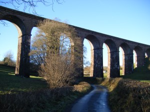 Lowgill Viaduct. Disused for over half a century, but restored to safe condition.